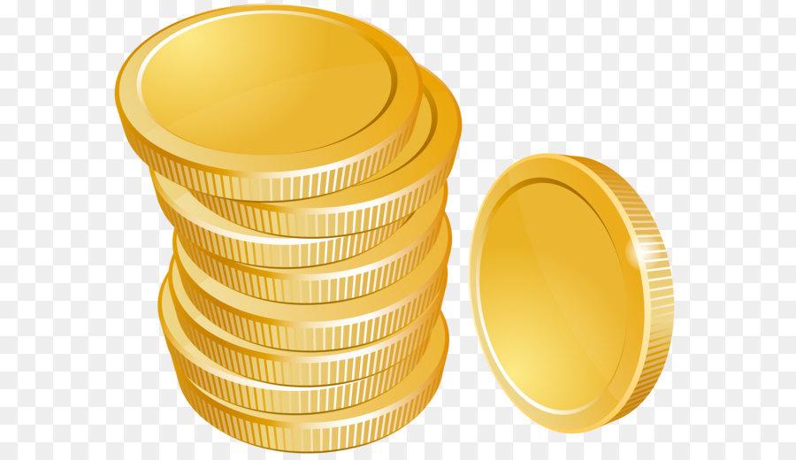 Gambar Uang Koin Kartun Koin Uang Animasi Gambar Png
