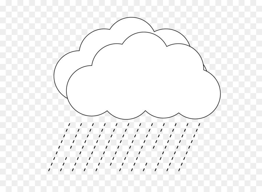 gambar awan hujan kartun hitam putih gambar gambar