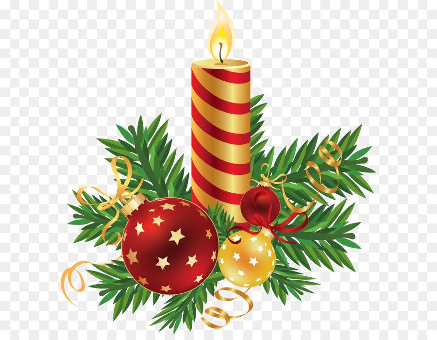 Natal Lilin Natal Dekorasi Gambar Png