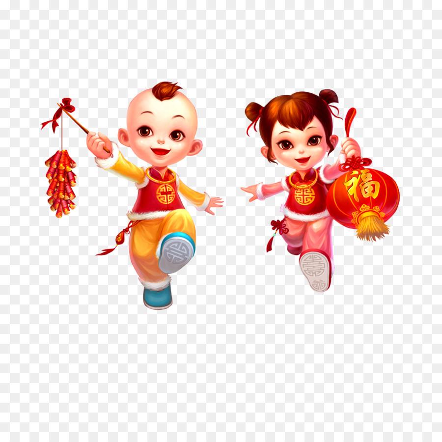 Tahun Baru Cina Tahun Baru Petasan Gambar Png