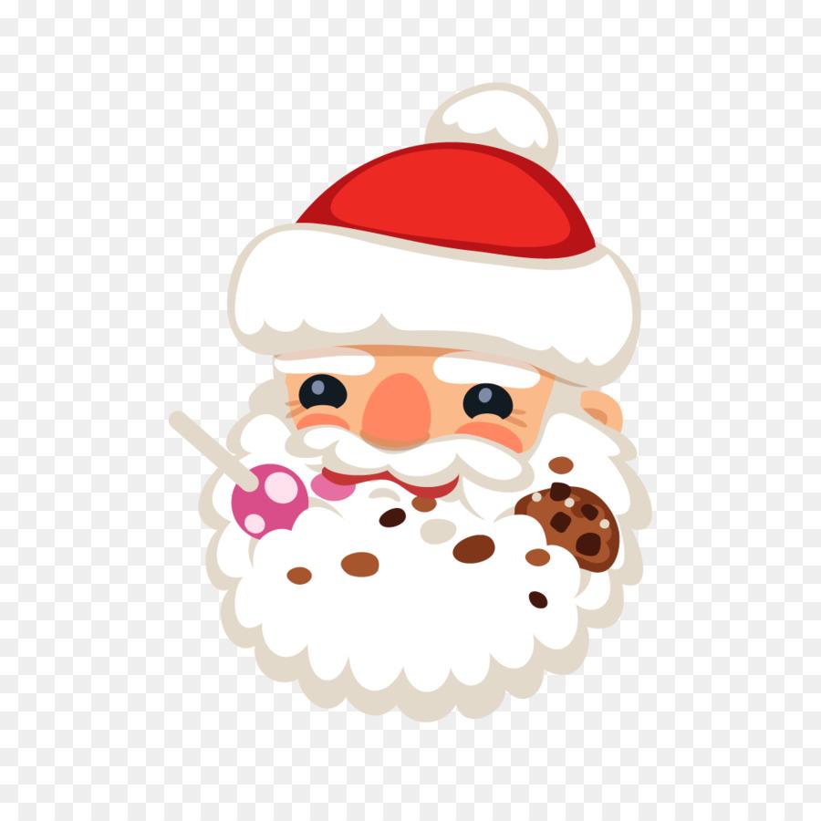 Santa Claus Natal Ornamen Natal Gambar Png