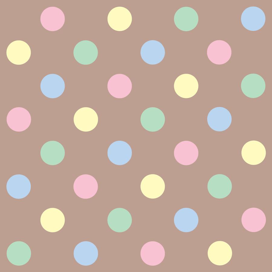 Polka Dot Pastel Warna Gambar Png