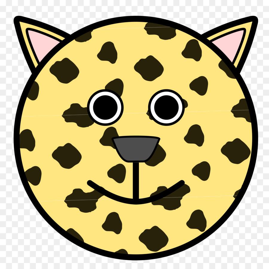 Kucing Smiley Buku Mewarnai Gambar Png