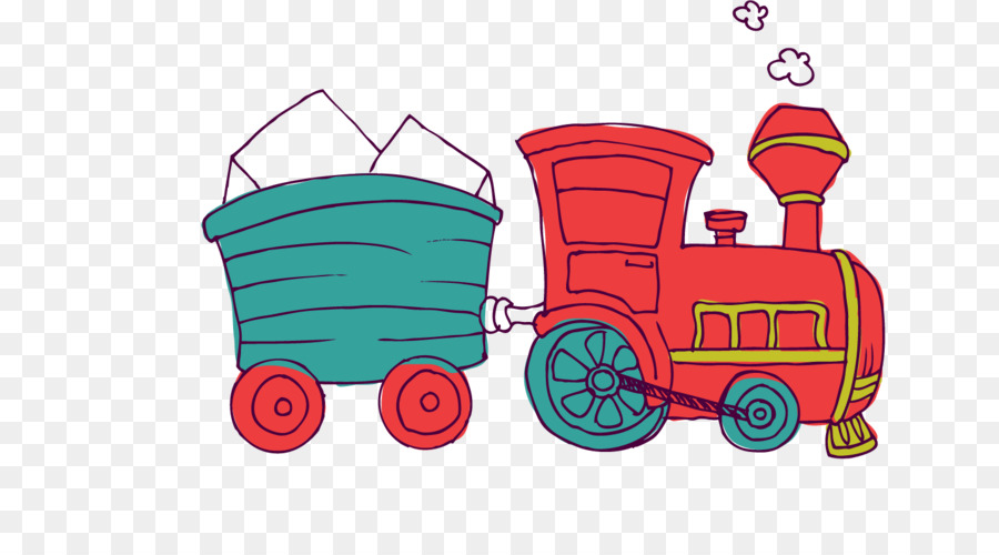 Gambar Kereta Kartun Png Kereta Kartun Mainan Gambar Png