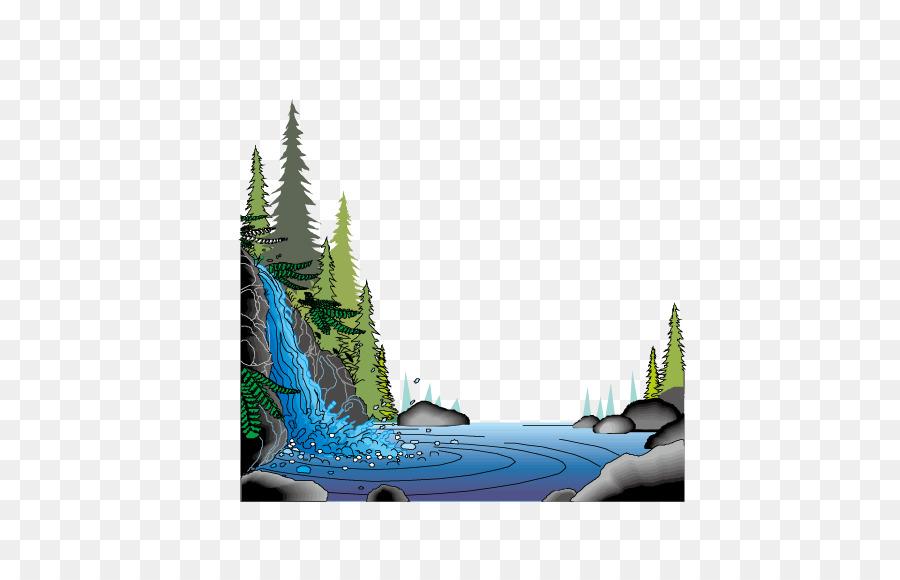 72+ Gambar Animasi Air Terjun Paling Keren