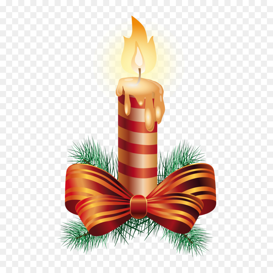 Ornamen Natal, Natal, Lilin Gambar Png