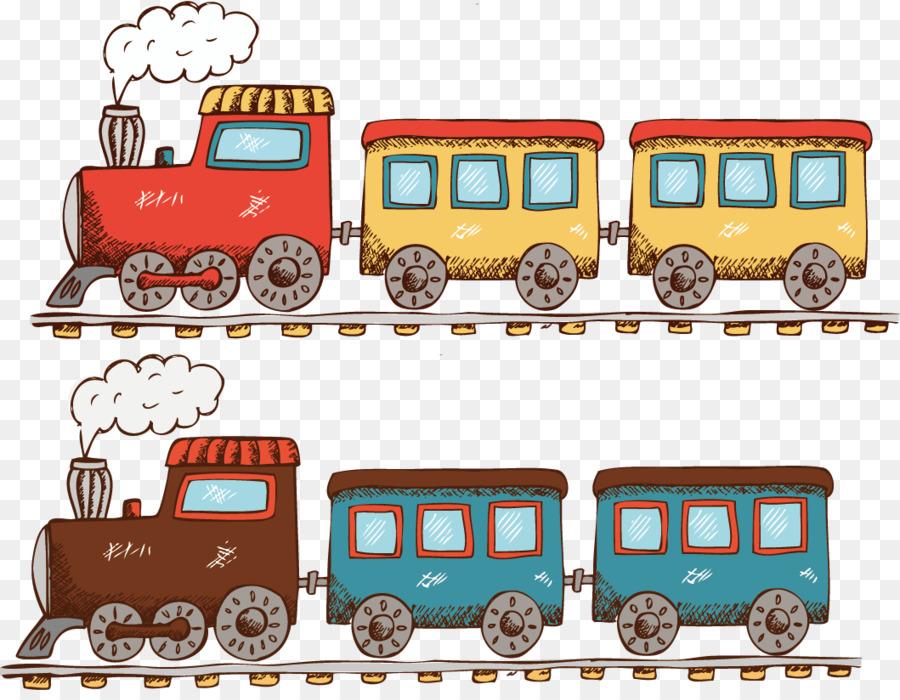 Gambar Kereta Kartun Png Kereta Kartun Lokomotif Gambar Png