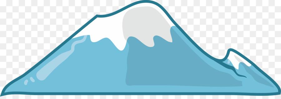 Salju Gunung Kartun Gambar Png