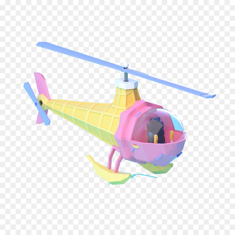 Helikopter Pesawat Kartun Gambar Png