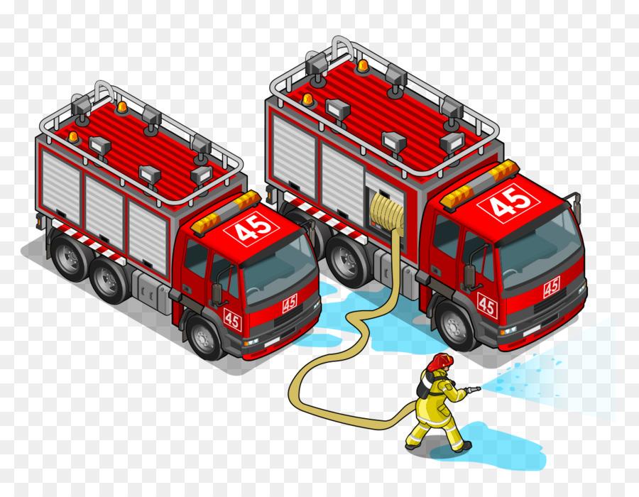 Mobil Patroli Truk Pemadam Kebakaran Dan Mobil Polisi Dan Traktor Di Kota Mobil Kartun Mobil Youtube