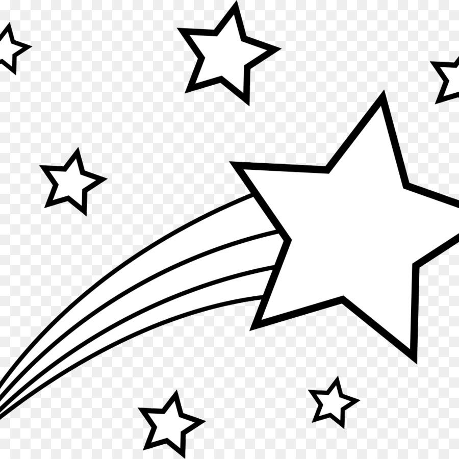 Buku Mewarnai Bintang Menembak Gambar Png