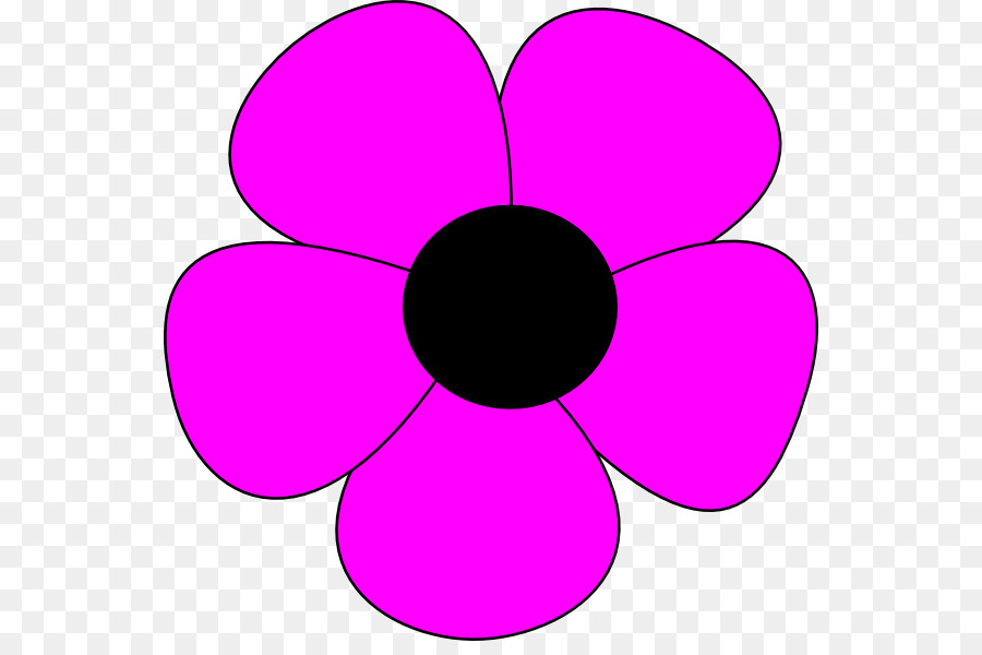 Bunga Sederhana Bunga Gambar Gambar Png