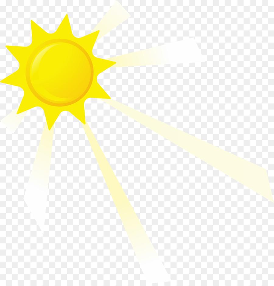 Cahaya Desain Grafis Sinar Matahari Gambar Png