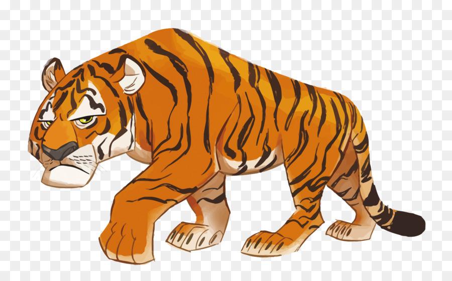78 Gambar Animasi Harimau Paling Hist