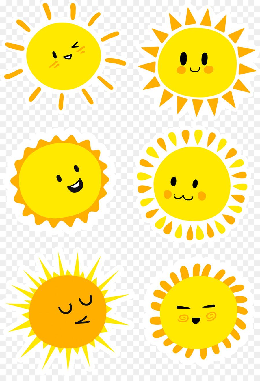 Men Download Kartun Sinar Matahari Gambar Png