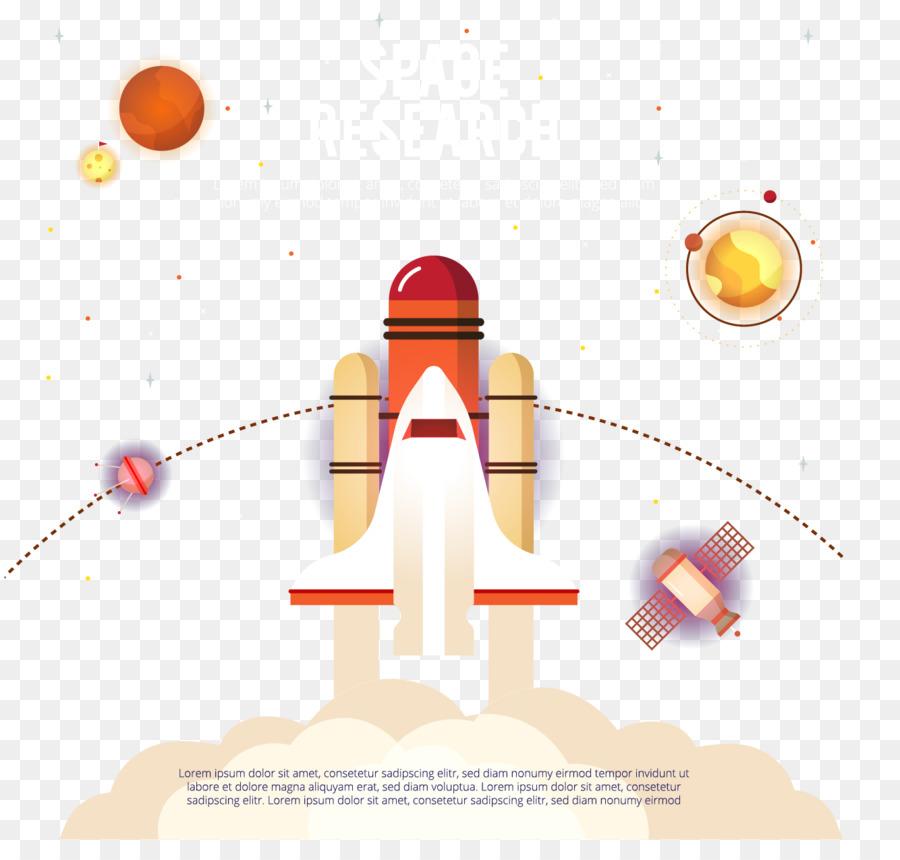 Tiket Pesawat Roket Vektor Jet Gambar Png
