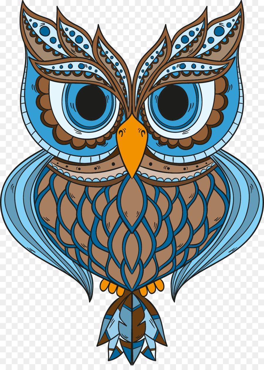 Burung Hantu Gambar Seni Gambar Png