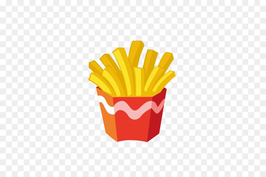 Makanan Cepat Saji Hamburger Kentang Goreng Gambar Png