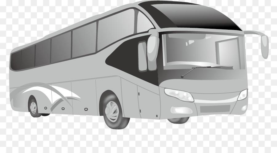 Mobil Angkutan Umum Kartun Gambar Png