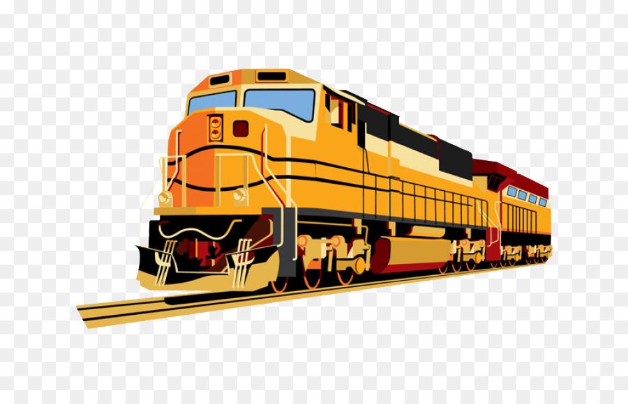Gambar Kereta Kartun Png Kereta Transportasi Kereta Api Mobil Penumpang Gambar Png