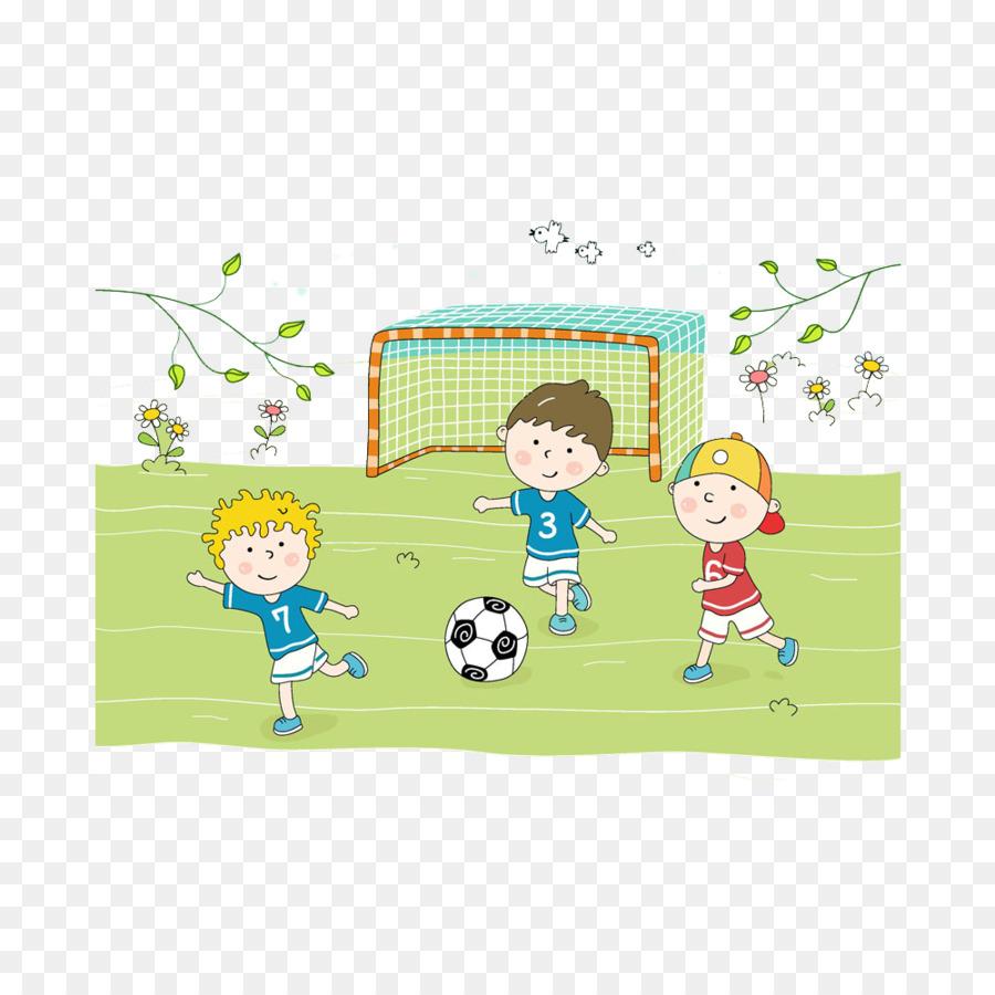Paling Baru Gambar Anak Anak Bermain Bola Kartun | Soho Blog's