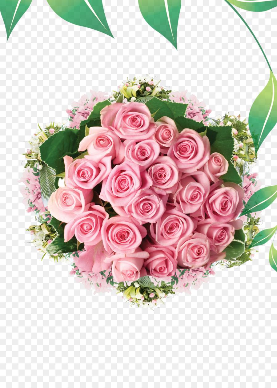 Karangan Bunga Bunga Naik Gambar Png
