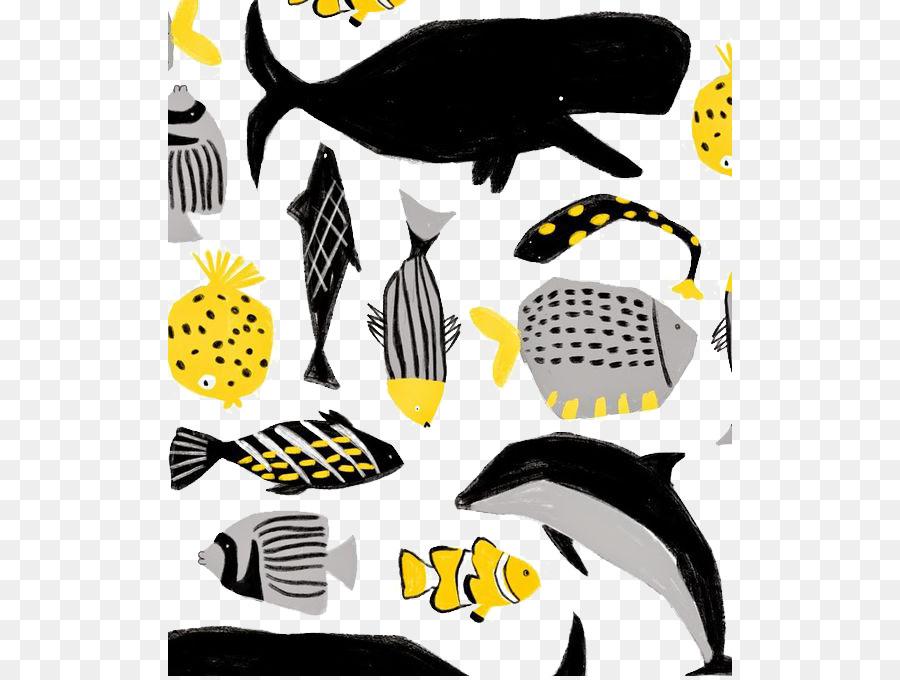 64 Gambar Abstrak Ikan Terbaik