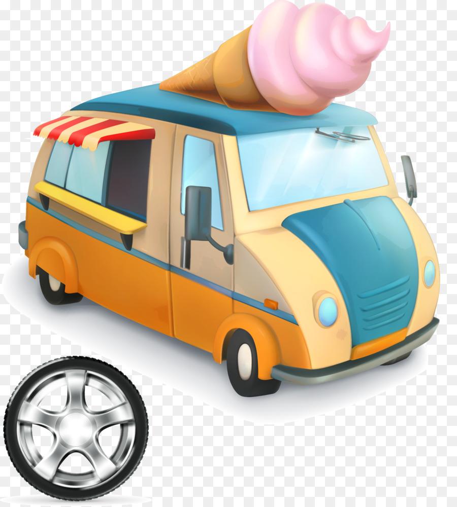 Mobil Kendaraan Kartun Gambar Png
