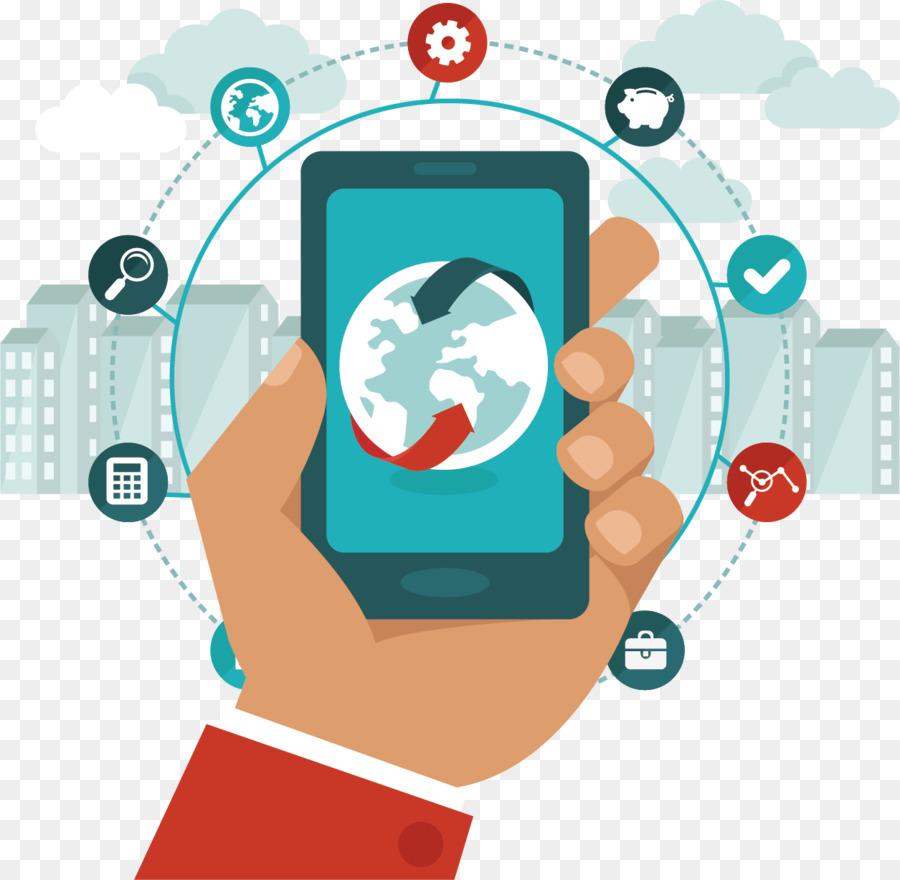 Ponsel Bisnis Pembayaran Mobile Gambar Png