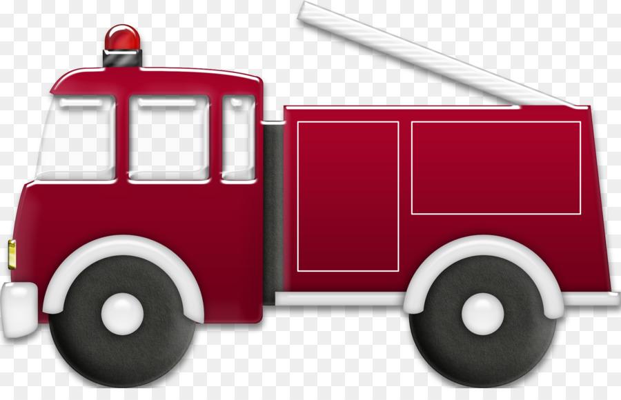 Mobil Pemadam Kebakaran Kendaraan Bermotor Gambar Png