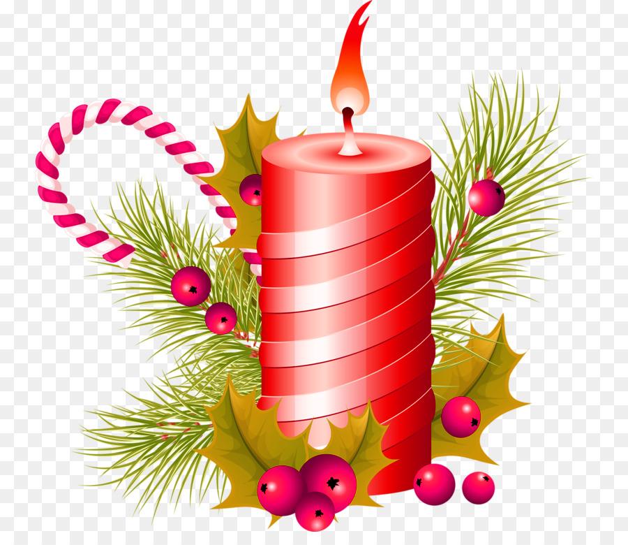 Lilin Natal Dekorasi Natal Gambar Png