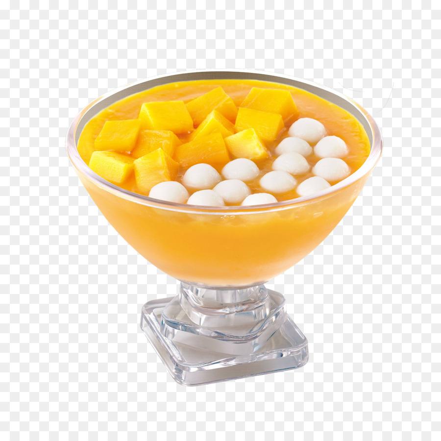 Tangyuan Sagu Sup Mangga Gambar Png