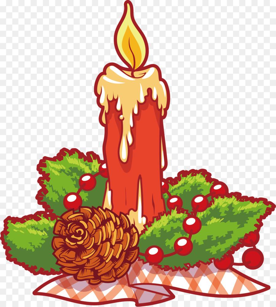 Pohon Natal, Lilin, Natal Gambar Png