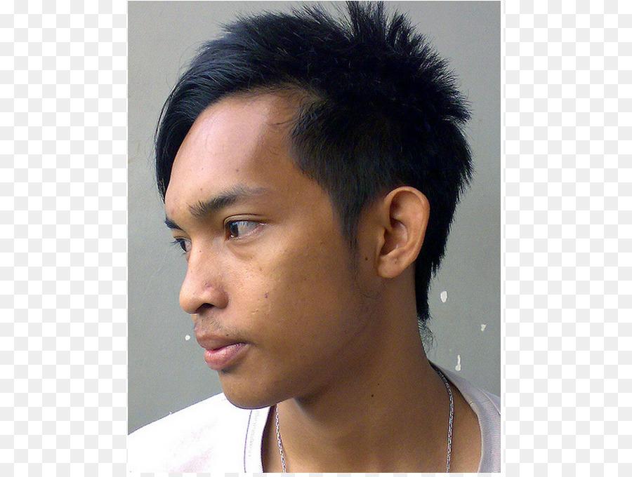 Asia Gaya Rambut Rambut Gambar Png