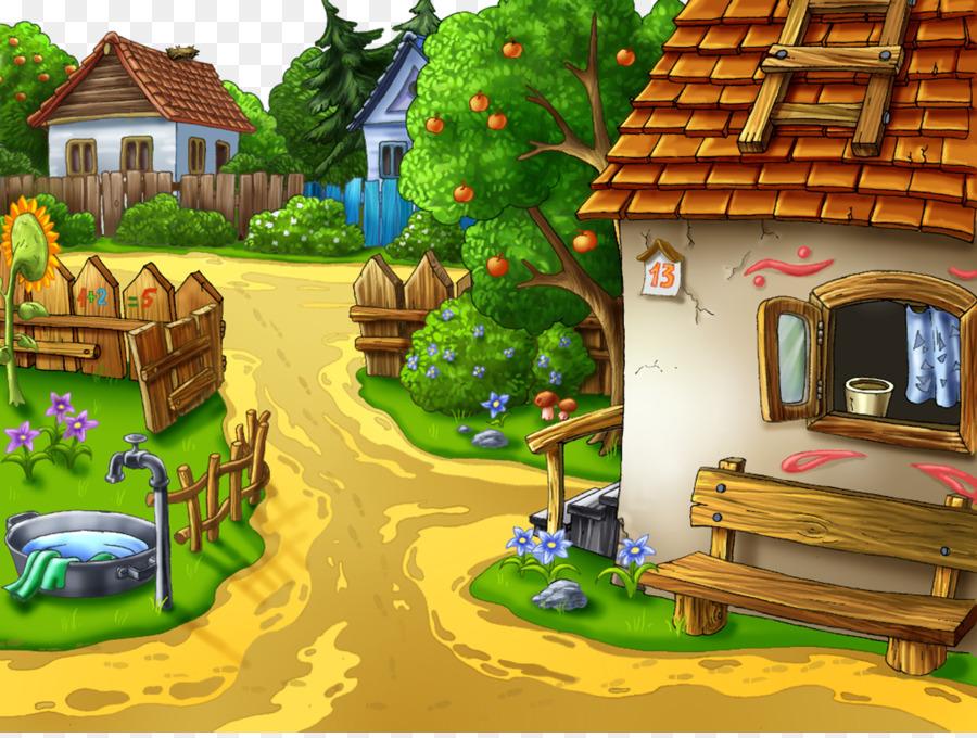 850 Koleksi Gambar Rumah Di Desa Kartun Gratis