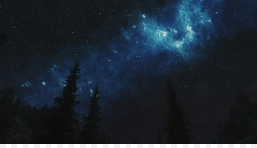 Langit Malam Desktop Wallpaper Bintang Gambar Png