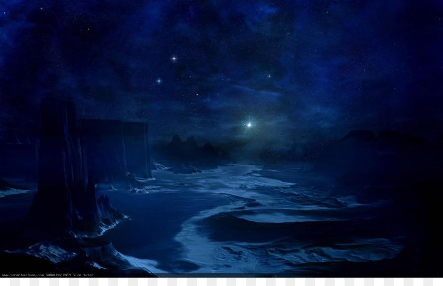 Langit Bintang Langit Malam Gambar Png