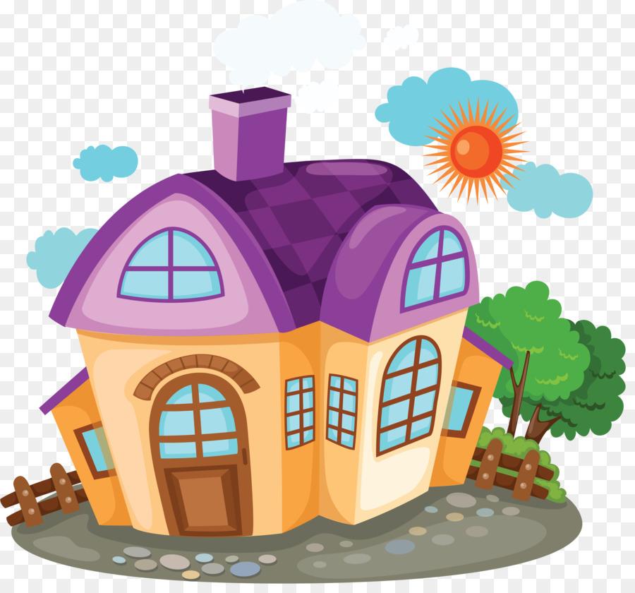 550 Gambar Rumah Dan Halaman Kartun HD