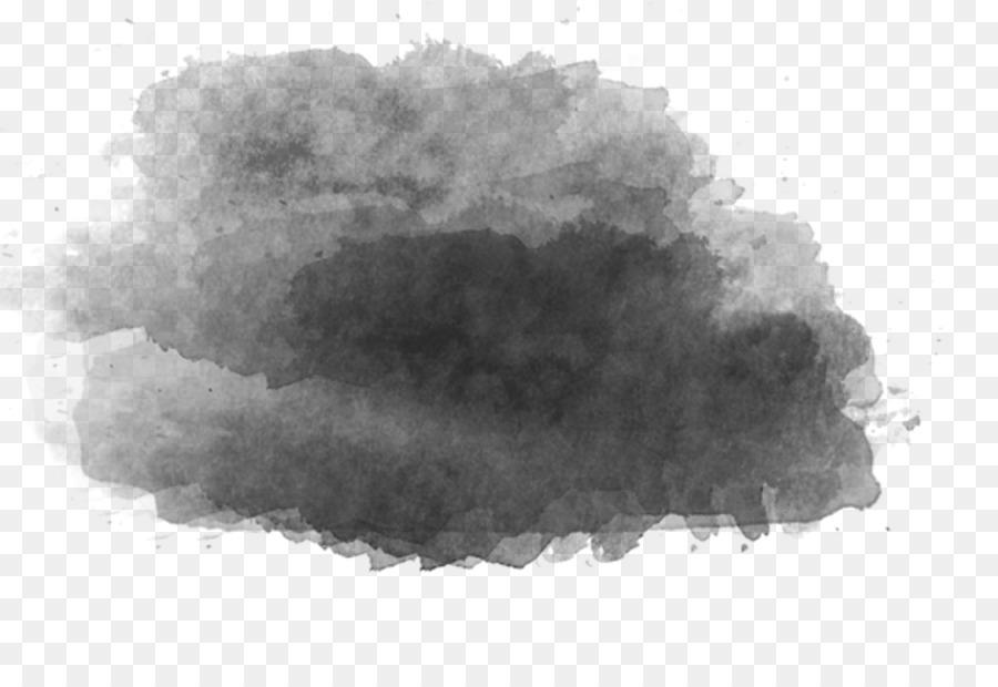 82 Gambar Awan Hitam Putih Png Paling Bagus