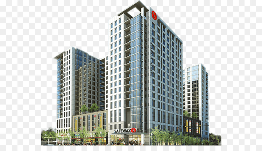 bangunan apartemen highdefinition televisi gambar png