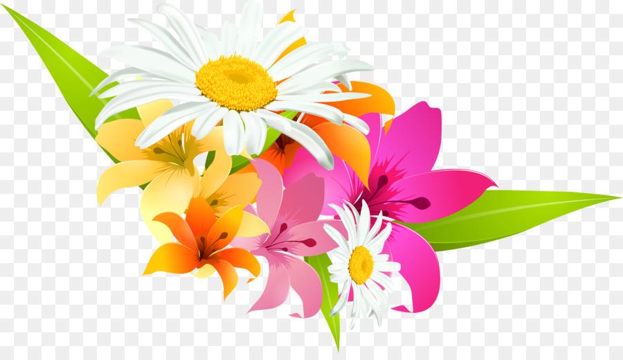 Vektor Bunga Desain Bunga Gambar Png