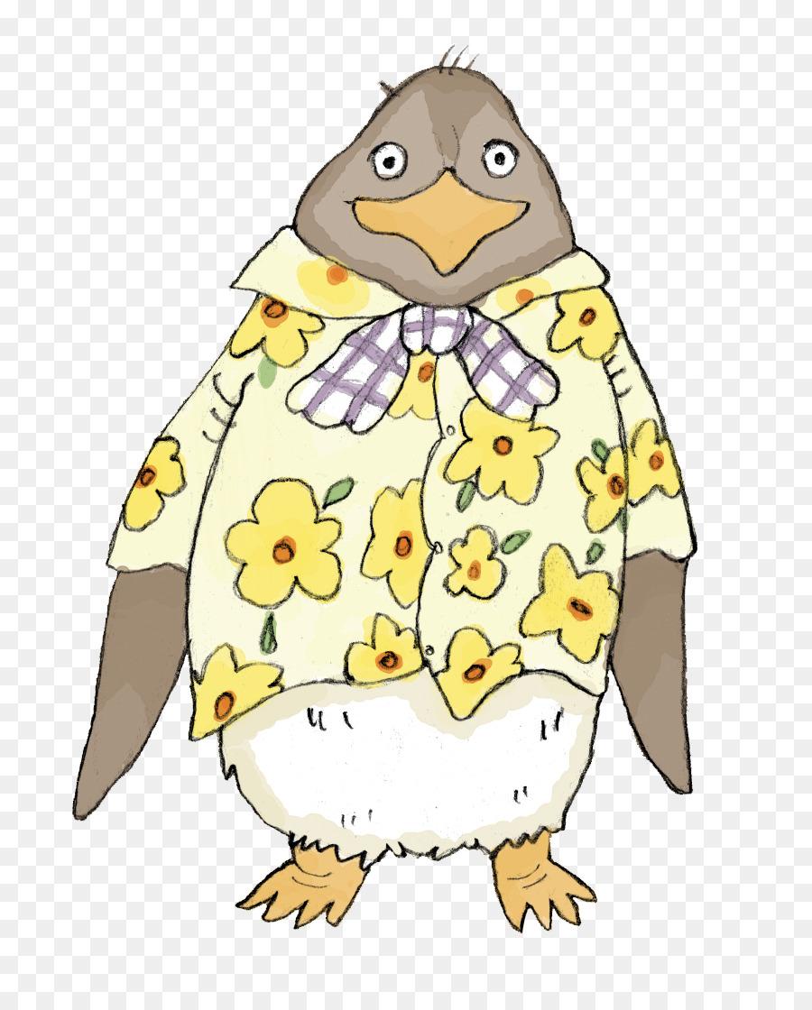Norak Penguin Penguin Buku Mewarnai Gambar Png