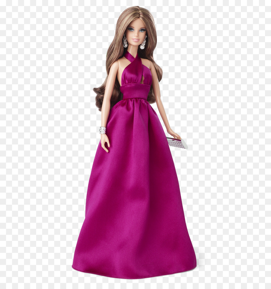 Barbie Boneka Gaun Gambar Png