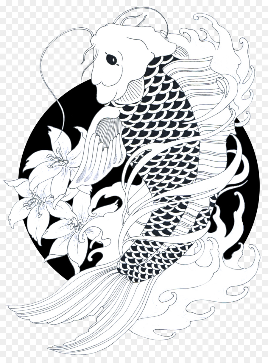 Koi Ikan Mas Gambar Gambar Png