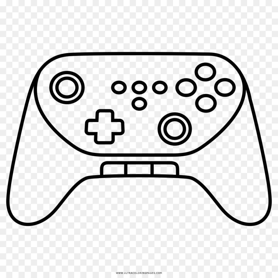 Wii Konsol Permainan Video Buku Mewarnai Gambar Png