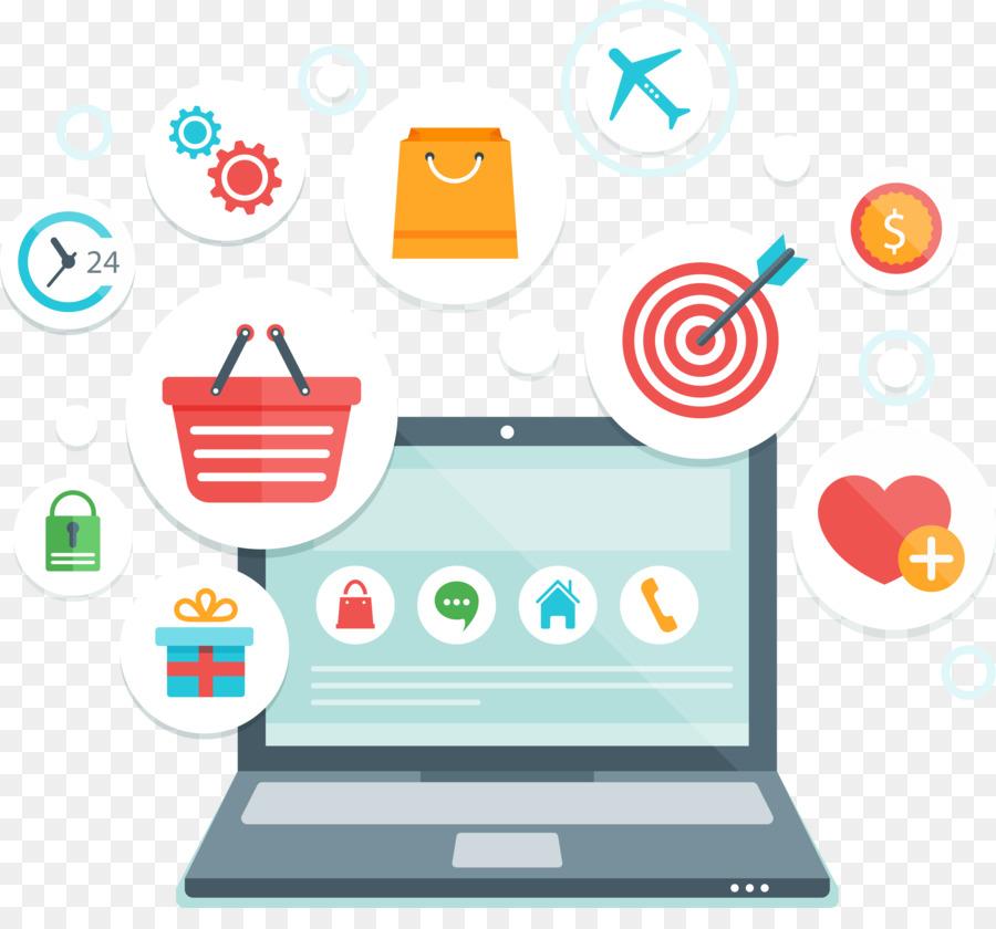 Belanja Online Ikon Komputer E Commerce Gambar Png