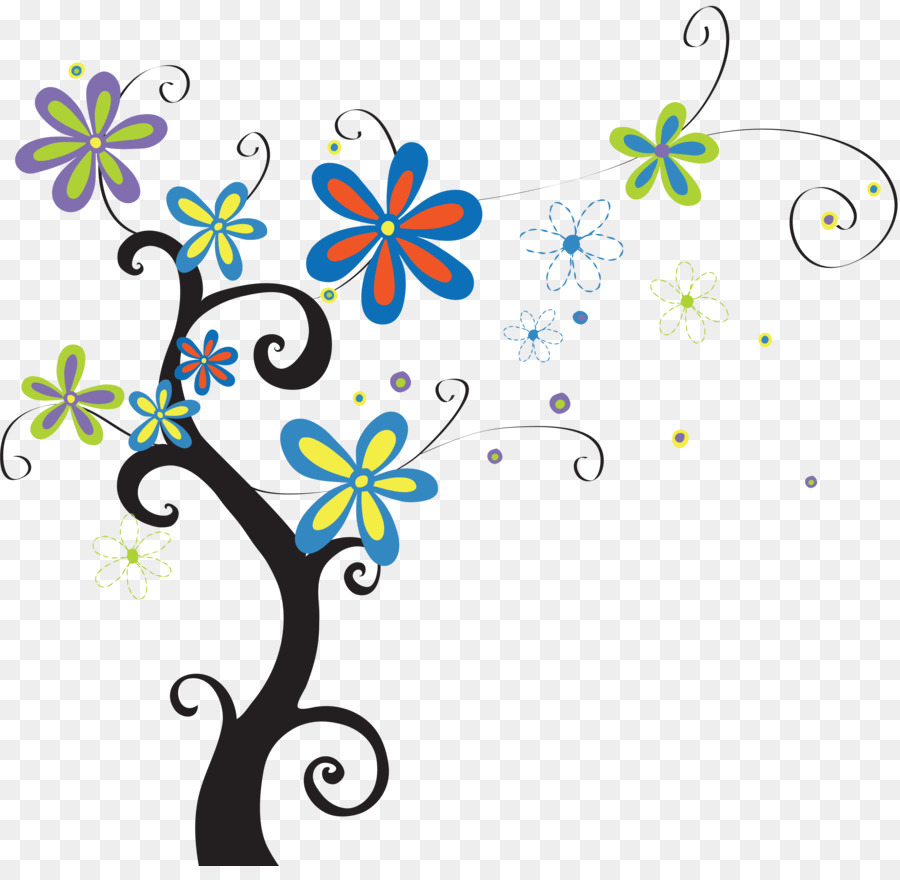 Dinding Pohon Stiker Dinding Gambar Png