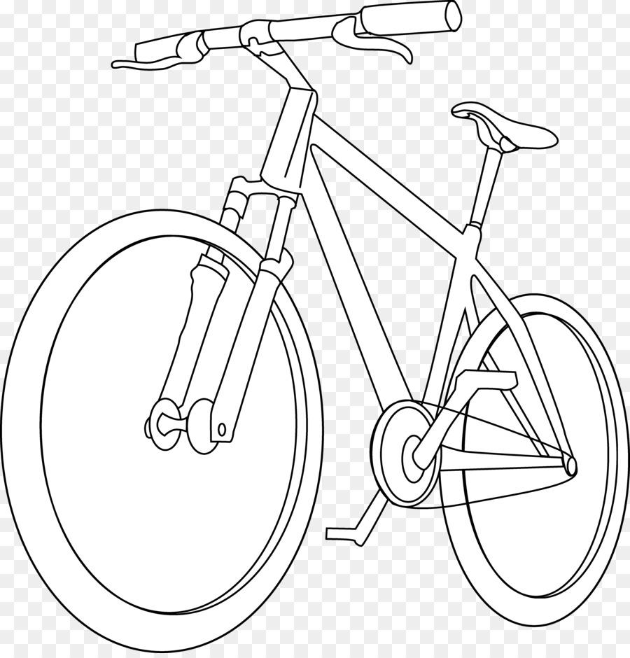 Sepeda Buku Mewarnai Gambar Gambar Png