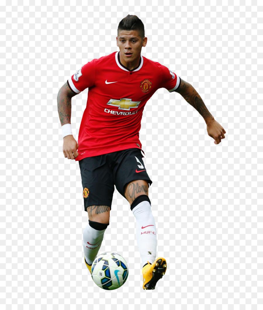 Marcos Rojo Manchester United Fc Pemain Sepak Bola Gambar Png