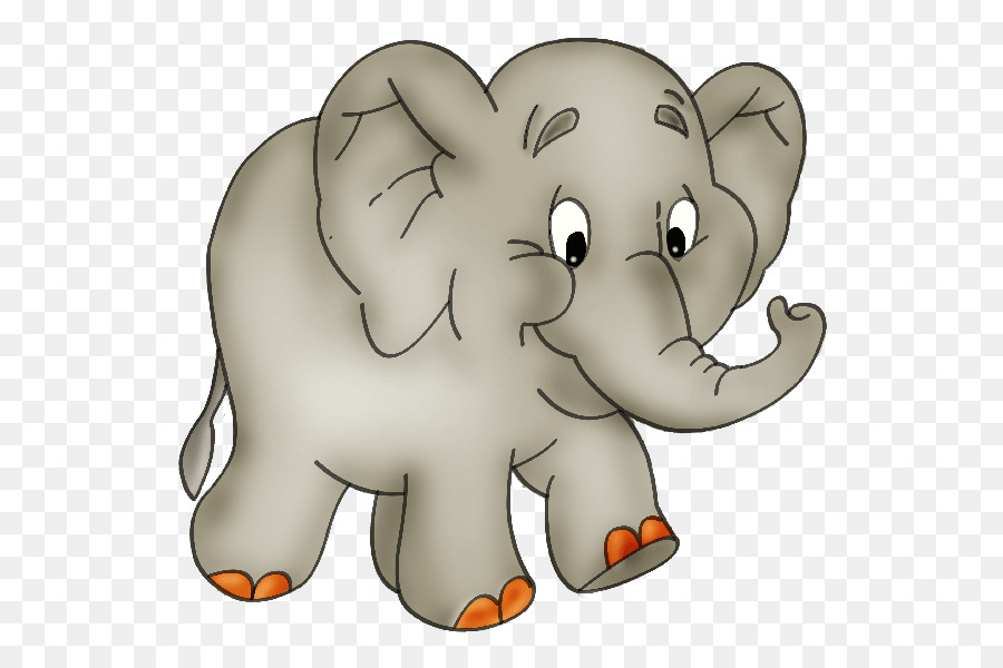Gajah Animasi Ikon Komputer Gambar Png